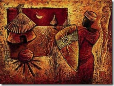pintura africana Isabelle Vital