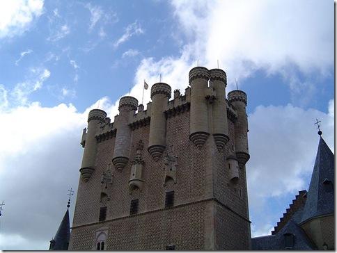 Torre de João II no Alcázar de Segovia.