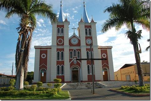 Igreja Matriz Santuário do Sagrado Coração de Jesus - Cordisburgo - MG