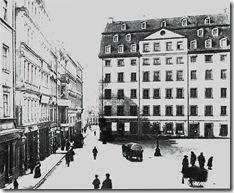 Edifício da Thomasschule em Leipzig_ onde morou Bach