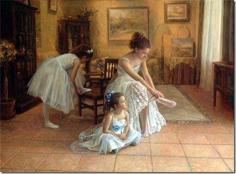 bailarina senportada