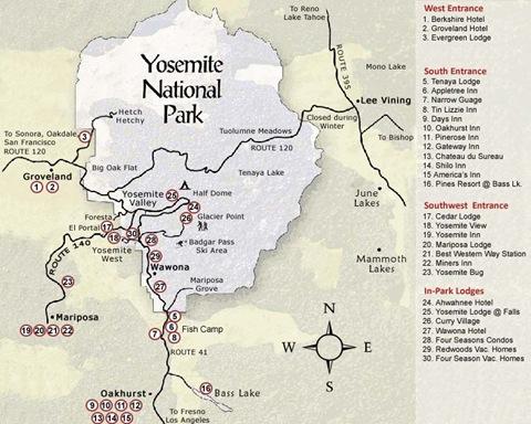 Parque-Nacional-Yosemite - mapa 03